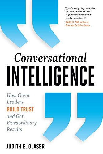 Conversational Intelligence by Judith Glaser